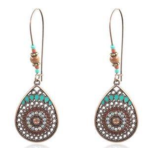 Bohemian dangle/drop earrings